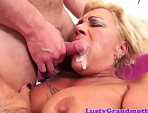 Bigtit gilf fucked hard and jizzed in indiscretion