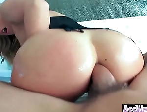 Hard Deep Anal Sex Tape With Big Butt Sexy Horny Unshaded (AJ Applegate) video-04