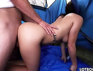 Gorgeous fat ass and juicy tits Keisha Grey doggystyle fucks
