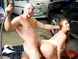 Busty babe Lena Paul & Jmac In the porn chapter - Rich Unfocused Gets Greasy