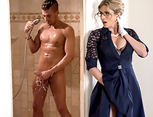 Stuck-Up Stepmom -Naked  Cory Chase In an obstacle porn scene