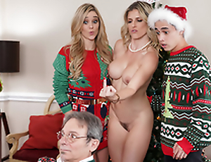 Keep The Xmas Lights Tied On - Mom Cory Chase Regarding the porn scene