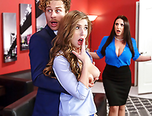 Big Tits Babe Lena Paul & Angela White In Porn Feud