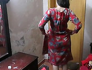 Indian Wife Sonia In the matter of Shalwar Suir Strips Naked Hardcore XXX Fuck